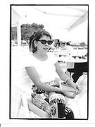 Ivana Lowell at Hotel du Cap© Copyright Photograph by Dafydd Jones 66 Stockwell Park Rd. London SW9 0DA Tel 020 7733 0108 www.dafjones.com