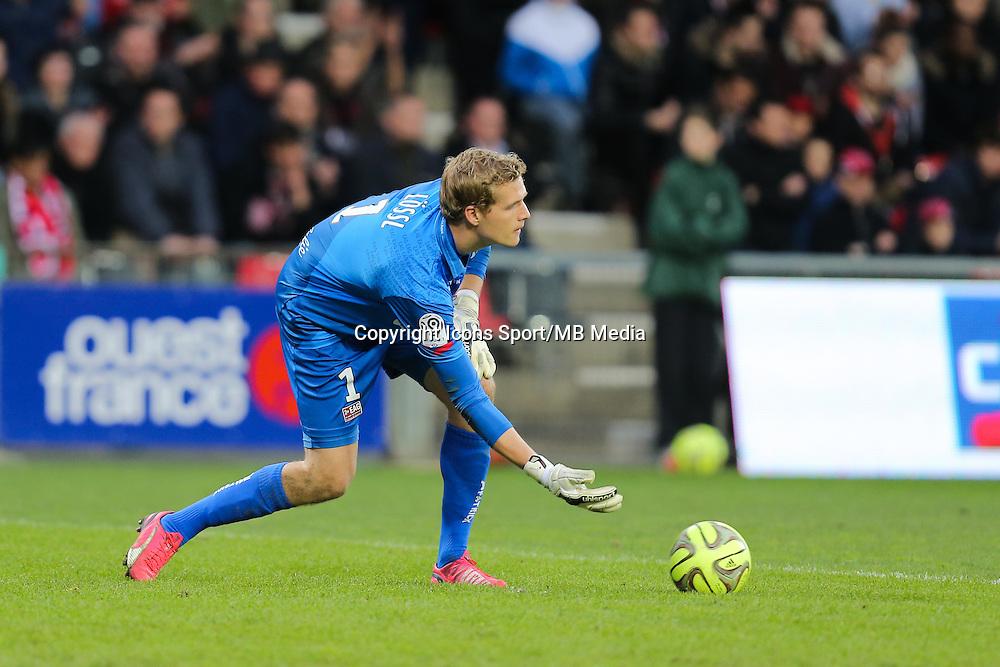 Jonas LOSSL - 08.03.2015 - Guingamp / Lille - 28eme journee de Ligue 1 <br /> Photo : Vincent Michel / Icon Sport