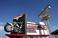 "US-LAS VEGAS: The Harley Davidson Cafe on Las Vegas Boulevard (""Thee Strip"")..PHOTO GERRIT DE HEUS"