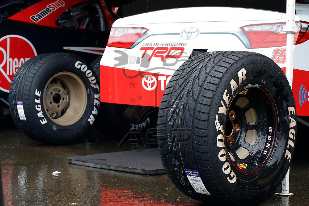 The NASCAR Xfinity Series teams take to the track for the Zippo 200 at Watkins Glen International in Watkins Glen, New York.