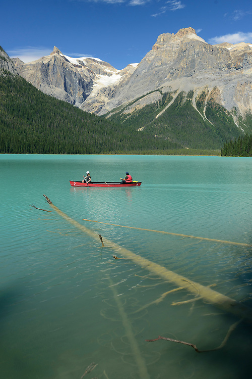 North America, Canada, Canadian,Alberta, Rocky Mountains, Yoho National Park, UNESCO, World Heritage, Emerald Lake