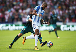 Mathias Zanka Jorgensen of Huddersfield Town in action - Mandatory by-line: Matt McNulty/JMP - 26/08/2017 - FOOTBALL - The John Smith's Stadium - Huddersfield, England - Huddersfield Town v Southampton - Premier League