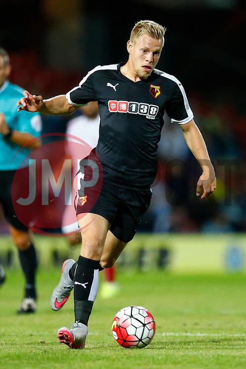 Matej Vydra of Watford - Mandatory by-line: Jason Brown/JMP - Mobile 07966 386802 31/07/2015 - SPORT - FOOTBALL - Watford, Vicarage Road - Watford v Sevilla - Pre-Season Friendly