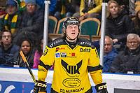 2019-11-01 | Umeå, Sweden: Västerås (53) Anthon Eriksson in HockeyAllsvenskan during the game  between Björklöven and Västerås at A3 Arena ( Photo by: Michael Lundström | Swe Press Photo )<br /> <br /> Keywords: Umeå, Hockey, HockeyAllsvenskan, A3 Arena, Björklöven, Västerås, mlbv191101