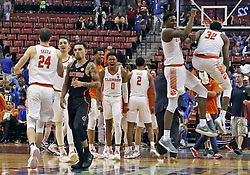 December 16, 2017 - Sunrise, FL, USA - The Florida Gators fall to the Clemson Tigers, 71-69, during the Orange Bowl Basketball Classic at the BB&T Center in Sunrise, Fla., on Saturday, Dec. 16, 2017. (Credit Image: © Al Diaz/TNS via ZUMA Wire)