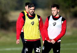 Marlon Pack of Bristol City takes part in training - Mandatory by-line: Robbie Stephenson/JMP - 19/01/2017 - FOOTBALL - Bristol City Training Ground - Bristol, England - Bristol City Training