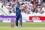 England ODI batsman Alex Hales square pulls for a boundary during the third Royal London One Day International match between England and Australia at Trent Bridge, West Bridgford, United Kingdom on 19 June 2018. Picture by Simon Davies.