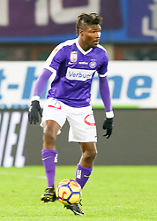 10.02.2018, Ernst Happel Stadion, Wien, AUT, 1. FBL, FK Austria Wien vs Lask, 22. Runde, im Bild Abdul Kadiri Mohammed (FK Austria Wien) // during Austrian Football Bundesliga Match, 22nd Round, between FK Austria Vienna and Lask at the Ernst Happel Stadion, Vienna, Austria on 2018/02/10. EXPA Pictures © 2018, PhotoCredit: EXPA/ Alexander Forst