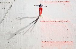 Thomas Morgenstern (AUT)  competes during Second round of the FIS Ski Jumping World Cup event of the 58th Four Hills ski jumping tournament, on January 6, 2010 in Bischofshofen, Austria. (Photo by Vid Ponikvar / Sportida)