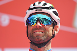 March 2, 2019 - Dubai, United Arab Emirates - Alejandro Valverde of Spain and Team Movistar, seen at the start line of the seventh and final stage - Dubai Stage of the UAE Tour 2019, a 145km with a start from Dubai Safari Park and finish in City Walk area. .On Saturday, March 2, 2019, in Dubai Safari Park, Dubai Emirate, United Arab Emirates. (Credit Image: © Artur Widak/NurPhoto via ZUMA Press)