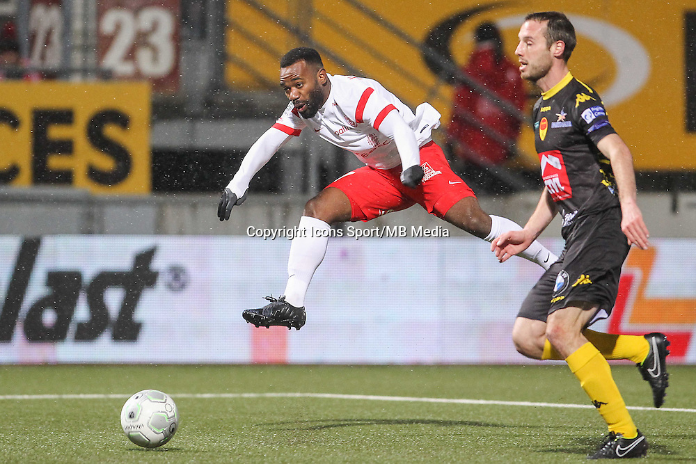 Lossemy KARABOUE - 19.01.2015 - Nancy / Orleans - 20e journee Ligue 2<br /> Photo : Fred Marvaux / Icon Sport