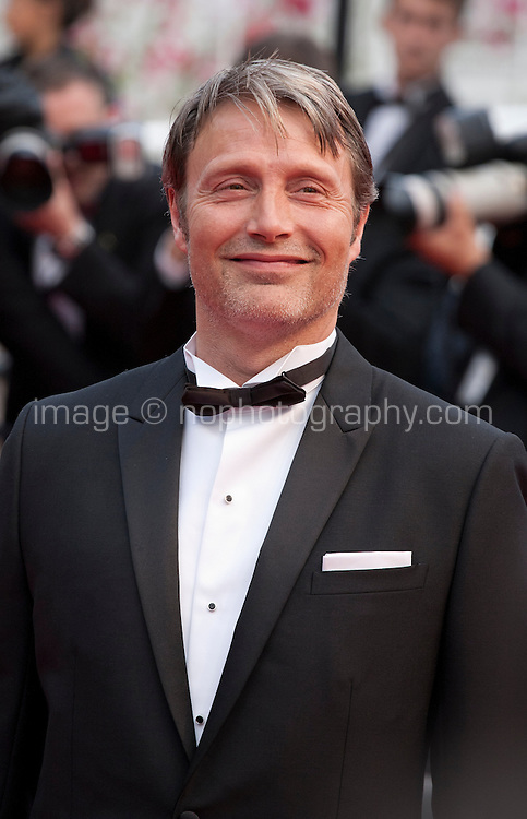 Actor Mads Mikkelsen at the Closing ceremony and premiere of La Glace Et Le Ciel at the 68th Cannes Film Festival, Sunday 24th May 2015, Cannes, France.