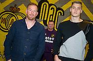 ZUNDERT, keepers en keeperstrainer NAC, Jelle Ten Rouwelaar (L), Andries Noppert (R), Albert van der Sleen (M), voetbal Eredivisie, seizoen 2014-2015, 04-12-2014, Trainingscomplex NAC, .