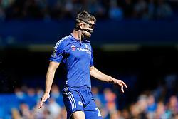 Gary Cahill of Chelsea looks on - Mandatory byline: Rogan Thomson/JMP - 07966 386802 - 19/09/2015 - FOOTBALL - Stamford Bridge Stadium - London, England - Chelsea v Arsenal - Barclays Premier League.