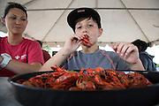Owens & Minor annual crawfish boil