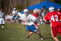 Gilford Varsity Lacrosse versus Trinity April 13, 2012.
