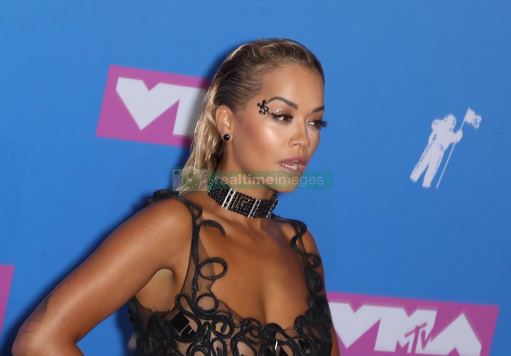 August 21, 2018 - New York City, New York, USA - 8/20/18.Rita Ora at the 2018 MTV Video Music Awards held at Radio City Music Hall in New York City..(NYC) (Credit Image: © Starmax/Newscom via ZUMA Press)