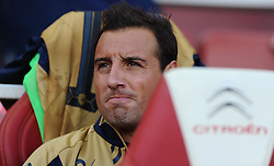 Santi Cazorla of Arsenal  - Mandatory by-line: Joe Meredith/JMP - 25/07/2015 - SPORT - FOOTBALL - London,England - Emirates Stadium - Arsenal v Lyon - Emirates Cup
