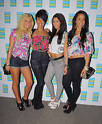 05.AUGUST.2009 - LONDON<br /> <br /> GIRLGROUP BUBBLE G ATTEND THE LAUNCH OF MOBILE PHONE COMPANY NOKIA'S THREE DAY FREE ROLLERDISCO EVENT HELD AT THE QUEENS WALK, WESTMINSTER.<br /> <br /> BYLINE: EDBIMAGEARCHIVE.COM<br /> <br /> *THIS IMAGE IS STRICTLY FOR UK NEWSPAPERS & MAGAZINES AND WORLDWIDE SALES ONLY*<br /> *FOR WORLDWIDE SALES & WEB USE PLEASE CONTACT EDBIMAGEARCHIVE - 0208 954-5968*