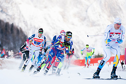 Richard Jouve (FRA) during the Man team sprint race at FIS Cross Country World Cup Planica 2016, on January 17, 2016 at Planica, Slovenia. Photo By Urban Urbanc / Sportida