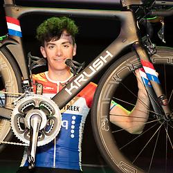 25-02-2020: Wielrennen: Teampresentatie IJsselstreek; Harderwijk <br />Nederlands Kampioen Robin Lowik