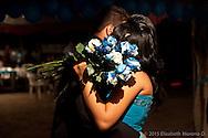 Marisol Murillo baila en vals en sus XV años en el Rancho la Fortuna.