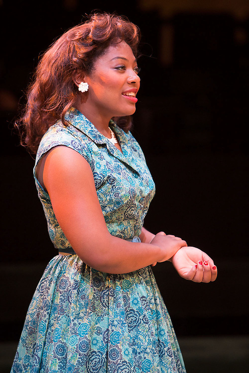 Royal Exchange Theatre production of ALL MY SONS by Arthur Miller. Directed by Michael Buffong Cast: Don Warrington, Doña Croll, Chiké Okonkwo, Kemi-Bo Jacobs, Simon Coombs, Delroy Atkinson, Bethan Mary-James, Roger Griffiths, Andrea Davy