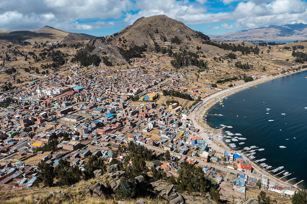 Copacobana by Titicaca lake