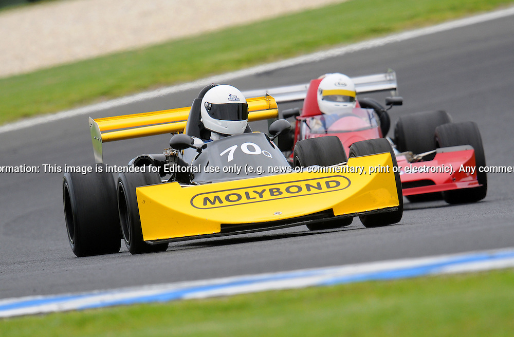 Keith Morling - Elfin 700 - F2.Historic Motorsport Racing - Phillip Island Classic.18th March 2011.Phillip Island Racetrack, Phillip Island, Victoria.(C) Joel Strickland Photographics.Use information: This image is intended for Editorial use only (e.g. news or commentary, print or electronic). Any commercial or promotional use requires additional clearance.