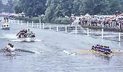 Henley on Thames,  United Kingdom, 1988 Henley Royal Regatta, Henley Reach, Thames Valley, British Summertime.<br /> [Mandatory Credit, Peter SPURRIER/Intersport Images] <br /> <br /> Scans from Positives, April 2019