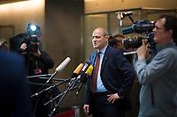 DEU, Deutschland, Germany, Berlin, 31.01.2018: Der neue Vorsitzende des Haushaltsausschusses Peter Boehringer (MdB, Alternative für Deutschland, AfD) vor der konstituierenden Sitzung des Haushaltsausschusses im Deutschen Bundestag.