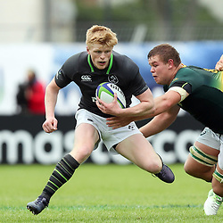 Tommy O Brian of Ireland during the U20 World Championship match between Ireland and South Africa on June 3, 2018 in Narbonne, France. (Photo by Manuel Blondeau/Icon Sport)