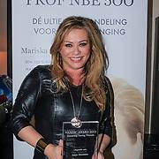 NLD/Laren/20130318 - Uitreiking Nannic Awards 2013, Antje Monteiro met haar gewonnen award