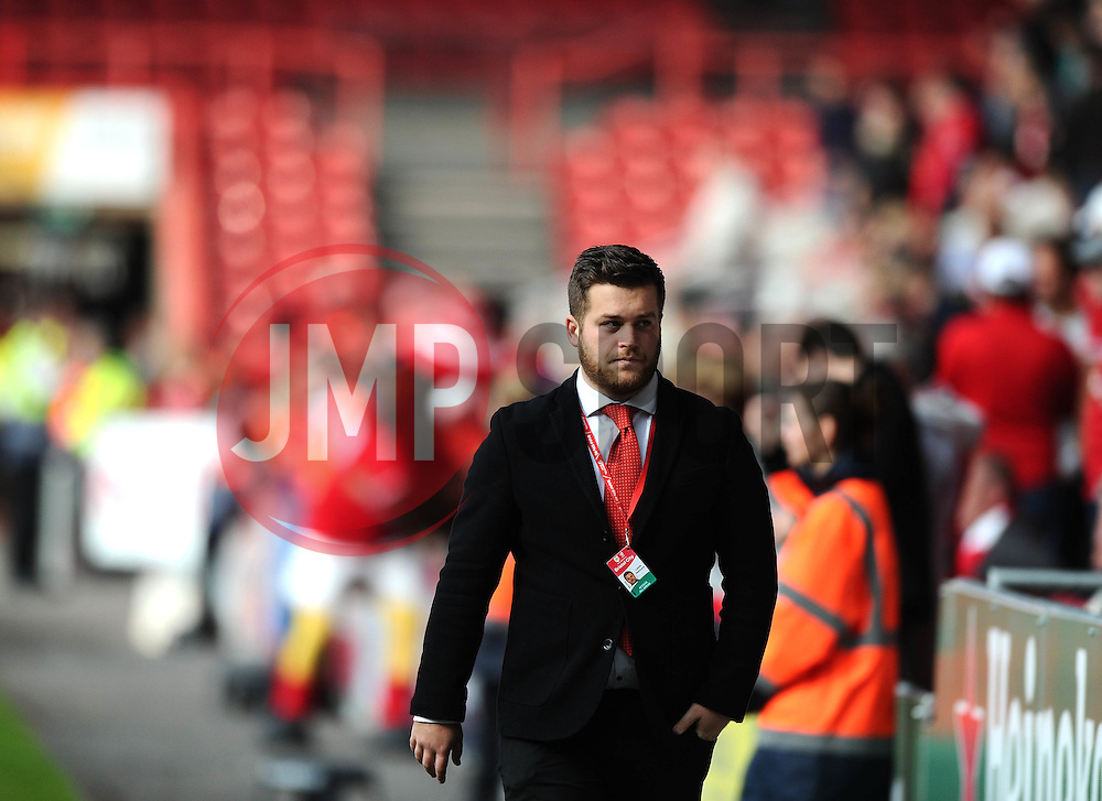 Bristol City Fans  - Mandatory byline: Joe Meredith/JMP - 07966 386802 - 03/10/2015 - FOOTBALL - Ashton Gate - Bristol, England - Bristol City v MK Dons - Sky Bet Championship