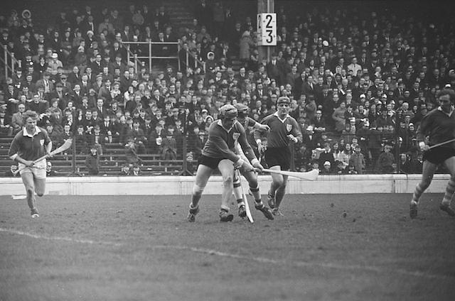 17.03.1971.Interprovincial Hurling Railway Cup..Leinster v. Munster.