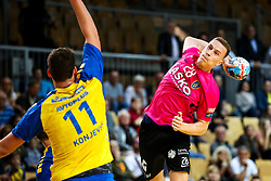 Jan Grebenc of RK Celje Pivovarna Lasko during handball match between RD Koper and RK Celje, on October 16, 2019, in Dvorana Bonifika, Koper / Capodistria, Slovenia. Photo by Matic Klansek Velej / Sportida. Photo by Matic Klansek Velej / Sportida