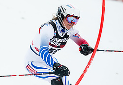 "Adriana Jelinkova (NED) competes during 1st Run of FIS Alpine Ski World Cup 2017/18 Ladies' Slalom race named ""Snow Queen Trophy 2018"", on January 3, 2018 in Course Crveni Spust at Sljeme hill, Zagreb, Croatia. Photo by Vid Ponikvar / Sportida"