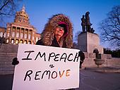 Pro-Impeachment Rally in Des Moine