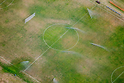 Alex S. MacLean<br /> Sprinklers on Athletic Field, Worcester, MA 2005<br /> File # 050912-0071<br /> Digital capture, Lightjet/ chromogenic color print<br /> 24x30: $3,000<br /> Limited Edition of 9 with 2 APs, <br /> next available 1/9.<br /> 30x40: $4,500<br /> Limited Edition of 9 with 2 APs, <br /> next available 1/9.<br /> 40x60: $7,300<br /> Limited Edition of 9 with 2 APs, <br /> next available 1/9.<br /> Prices and availability are subject to change without notice.