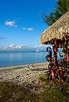 View from a beach bungalow at Sofitel Ia Ora, Moorea, French Polynesia