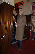 Neil Tennant. M.A.C. Aids fund benefit concert given by Elton John. Shepherds Bush Empire. 16 December 2002.<br />© Copyright Photograph by Dafydd Jones 66 Stockwell Park Rd. London SW9 0DA Tel 020 7733 0108 www.dafjones.com