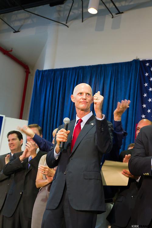 Rick Scott Unity Rally Miami, Florida