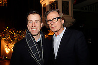 Anton du Beke and Bill Nighy, Nordoff Robbins Carol Service  2011 sponsored by Coutts. London..Wednesday, 14. Dec 2011