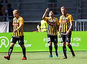 STOCKHOLM, SWEDEN - JULY 22: Paulinho of BK Hacken celebrates after scoring to 0-1 during the Allsvenskan match between Djurgardens IF and BK Hacken at Tele2 Arena on July 22, 2018 in Stockholm, Sweden. Photo by Nils Petter Nilsson/Ombrello ***BETALBILD***