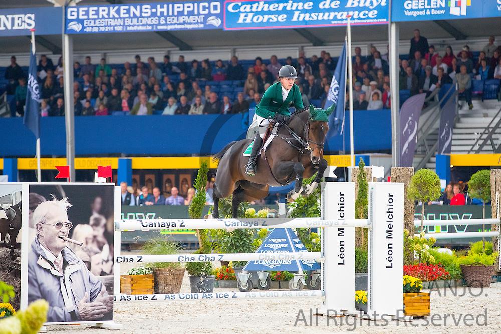 Darragh Ryan - Esi Star Struck<br /> FEI World Breeding Jumping Championships for Young Horses 2016<br /> © DigiShots