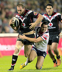 Auckland-Rugby League, NRL, Warriors v Roosters