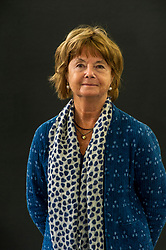 Pictured: Caroline Mary Moorehead OBE FRSL is a human rights journalist and biographer.<br /> Book fanatics headed to Charlotte Square in Edinburgh which is the hub of the international Book Festival to meet the authors and also to meet up with fellow fans of the printed word.<br /> <br /> <br /> Ger Harley | EEm 21 August 2017