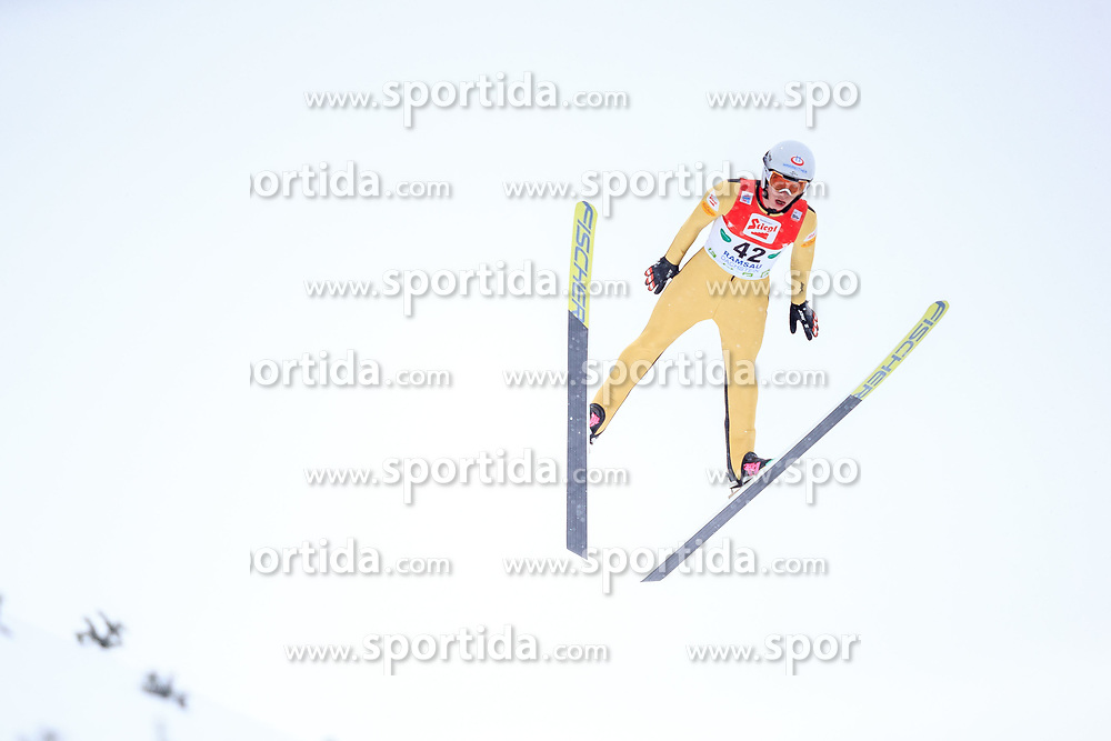 17.12.2017, Nordische Arena, Ramsau, AUT, FIS Weltcup Nordische Kombination, Skisprung, im Bild Martin Fritz (AUT) // Martin Fritz of Austria during Cross Country Training of FIS Nordic Combined World Cup, at the Nordic Arena in Ramsau, Austria on 2017/12/17. EXPA Pictures © 2017, PhotoCredit: EXPA/ Dominik Angerer