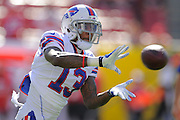 Buffalo Bills wide receiver Steve Johnson (13) during the Tampa Bay Buccaneers 27-6 win over the Bills at Raymond James Stadium on Dec. 8, 2013   in Tampa, Florida.        ©2013 Scott A. Miller