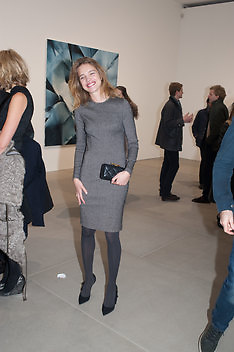 NATALIA VODIANOVA, This is not an Exit. Mat Collishaw. Blain Southern. Hanover Sq. London. 13 February 2013.
